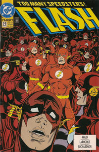 Cover Thumbnail for Flash (DC, 1987 series) #74 [Direct]