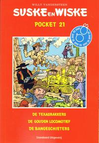 Cover Thumbnail for Suske en Wiske Pocket (Standaard Uitgeverij, 2007 series) #21