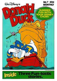Cover Thumbnail for Walt Disney's Donald Duck (Egmont UK, 1987 series) #7