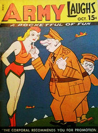 Cover Thumbnail for Army Laughs (Prize, 1941 series) #v1#8