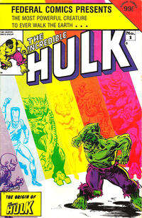 Cover Thumbnail for The Incredible Hulk (Federal, 1984 series) #1