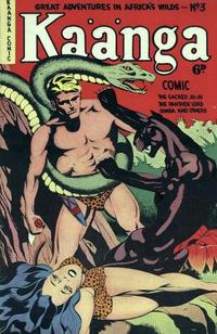 Cover Thumbnail for Kaänga Comics (H. John Edwards, 1950 ? series) #3