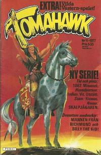 Cover Thumbnail for Tomahawk (Semic, 1976 series) #11/1977