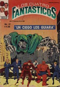 Cover Thumbnail for Los Cuatro Fantásticos (Novedades, 1980 series) #37