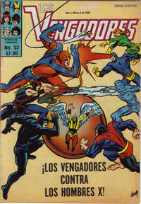 Cover Thumbnail for Los Vengadores (Novedades, 1981 series) #53