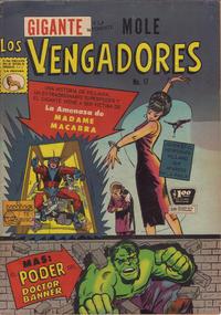 Cover Thumbnail for Los Vengadores (Editora de Periódicos La Prensa S.C.L., 1965 series) #17