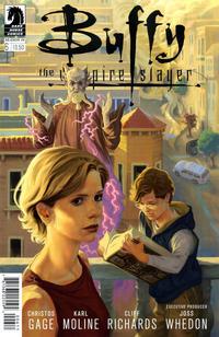 Cover Thumbnail for Buffy the Vampire Slayer Season 10 (Dark Horse, 2014 series) #6 [Steve Morris Cover]