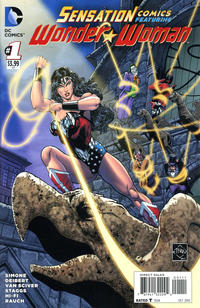 Cover Thumbnail for Sensation Comics Featuring Wonder Woman (DC, 2014 series) #1