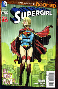 Cover Thumbnail for Supergirl (DC, 2011 series) #34 [Direct Sales]