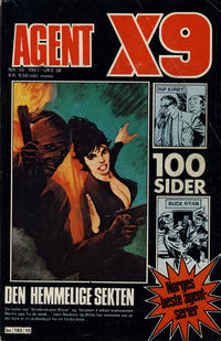 Cover Thumbnail for Agent X9 (Semic, 1976 series) #10/1981
