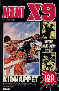 Cover Thumbnail for Agent X9 (Semic, 1976 series) #1/1982
