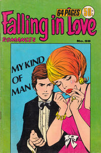 Cover Thumbnail for Falling in Love Romances (K. G. Murray, 1958 series) #98
