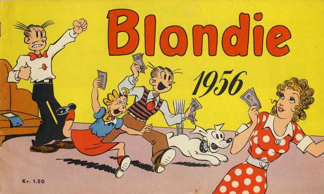 Cover for Blondie (Hjemmet / Egmont, 1941 series) #1956