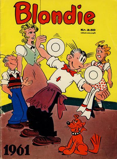 Cover for Blondie (Hjemmet / Egmont, 1941 series) #1961