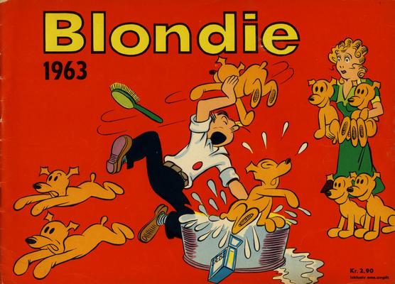 Cover for Blondie (Hjemmet / Egmont, 1941 series) #1963