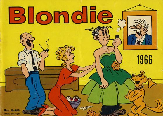 Cover for Blondie (Hjemmet / Egmont, 1941 series) #1966