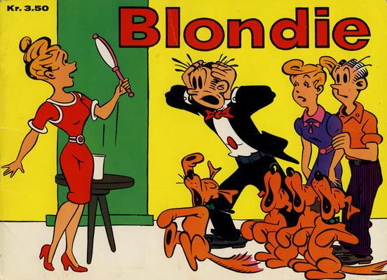 Cover for Blondie (Hjemmet / Egmont, 1941 series) #1968