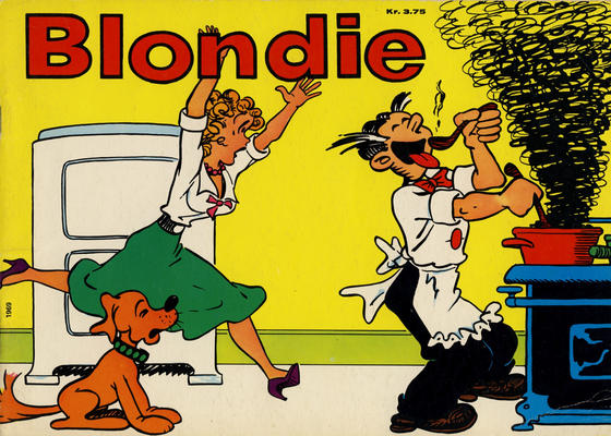 Cover for Blondie (Hjemmet / Egmont, 1941 series) #1969