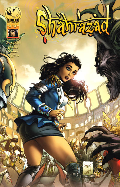 Cover for Shahrazad (Big Dog Ink, 2013 series) #3 [Cover B]