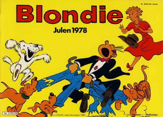 Cover for Blondie (Hjemmet / Egmont, 1941 series) #1978