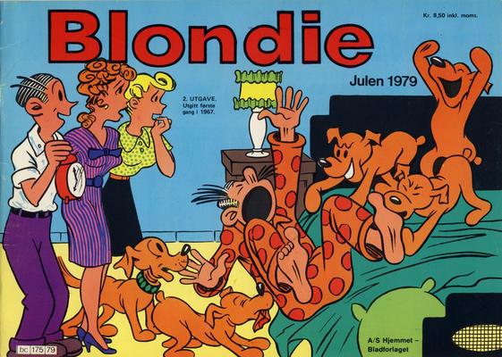 Cover for Blondie (Hjemmet / Egmont, 1941 series) #1979