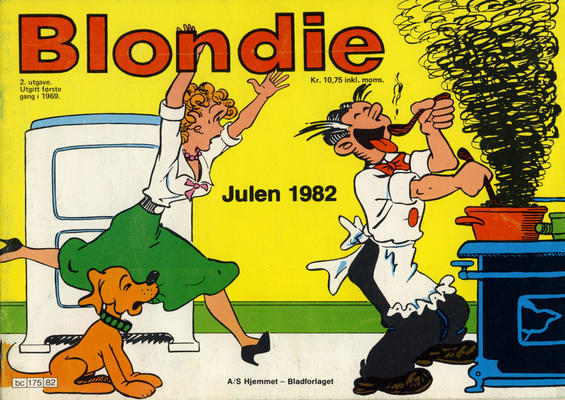 Cover for Blondie (Hjemmet / Egmont, 1941 series) #1982