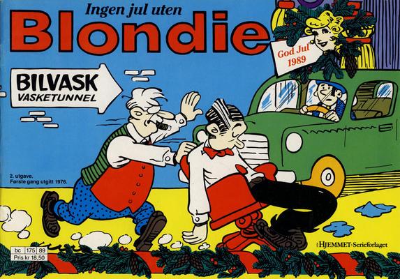 Cover for Blondie (Hjemmet / Egmont, 1941 series) #1989