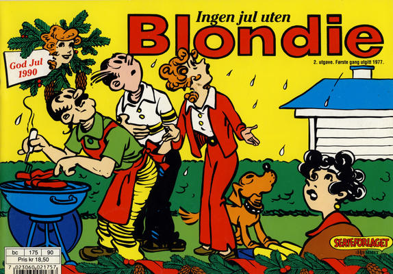 Cover for Blondie (Hjemmet / Egmont, 1941 series) #1990