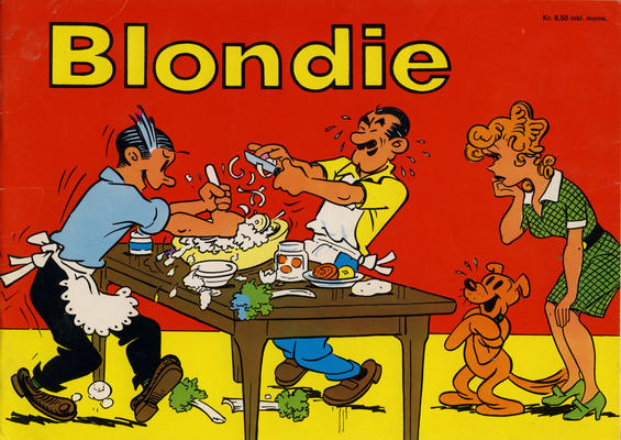 Cover for Blondie (Hjemmet / Egmont, 1941 series) #1975