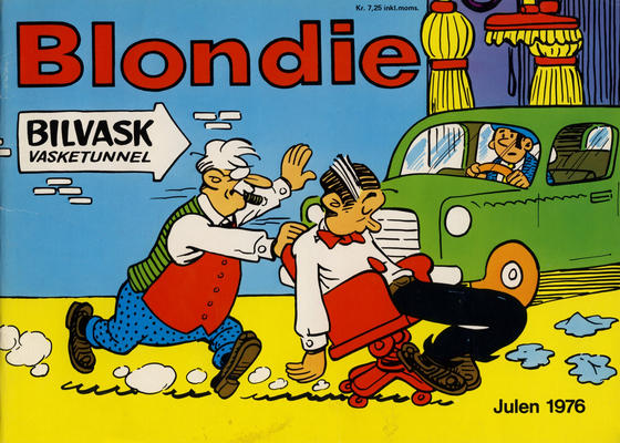Cover for Blondie (Hjemmet / Egmont, 1941 series) #1976