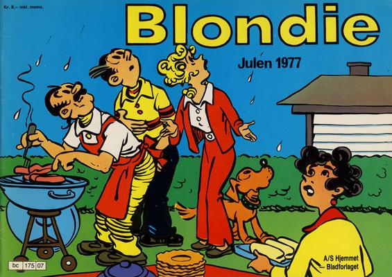 Cover for Blondie (Hjemmet / Egmont, 1941 series) #1977