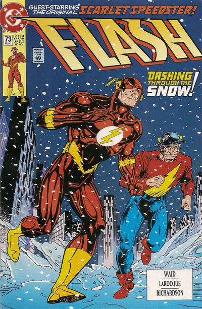 Cover for Flash (DC, 1987 series) #73 [Direct]