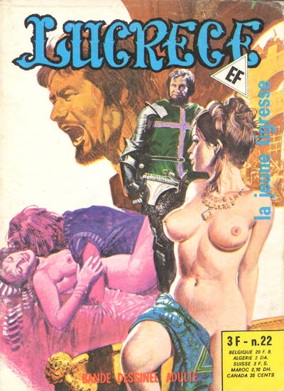 Cover for Lucrece (Elvifrance, 1972 series) #22