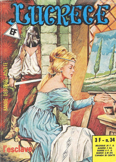 Cover for Lucrece (Elvifrance, 1972 series) #34