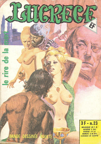Cover for Lucrece (Elvifrance, 1972 series) #23