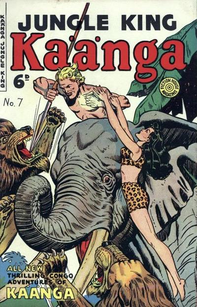 Cover for Kaänga Comics (H. John Edwards, 1950 ? series) #7