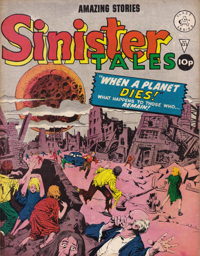 Cover for Sinister Tales (Alan Class, 1964 series) #135
