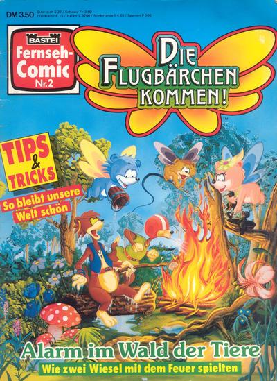 Cover for Bastei Fernseh-Comic (Bastei Verlag, 1992 series) #2