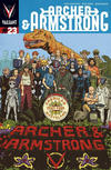 Cover for Archer and Armstrong (Valiant Entertainment, 2012 series) #23 [Cover A - Michael Walsh]