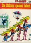 Cover for Kauka Super Serie (Gevacur, 1970 series) #51 - Lucky Luke - Die Daltons spielen falsch
