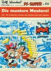 Cover for Kauka Super Serie (Gevacur, 1970 series) #69 - Schwarzbart - Die muntere Meuterei