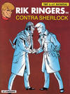 Cover for Rik Ringers (Le Lombard, 1963 series) #44 - Rik Ringers contra Sherlock