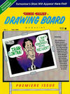 Cover for Comic Relief's Drawing Board Magazine (Page One, 1990 series) #1
