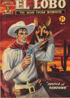 Cover for El Lobo The Man from Nowhere (Cleland, 1956 series) #6