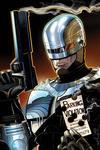 Cover Thumbnail for Terminator / RoboCop: Kill Human (2011 series) #1 [Walt Simonson Dynamic Forces Virgin Cover]