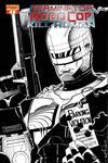 Cover Thumbnail for Terminator / RoboCop: Kill Human (2011 series) #1 [Walt Simonson Black and White Retailer Incentive Cover]