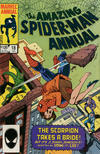Cover for The Amazing Spider-Man Annual (Marvel, 1964 series) #18 [Direct]