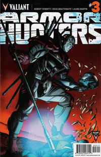 Cover Thumbnail for Armor Hunters (Valiant Entertainment, 2014 series) #3 [Cover A - Jorge Molina]