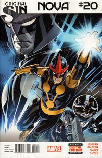 Cover Thumbnail for Nova (Marvel, 2013 series) #20