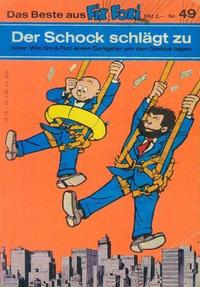 Cover Thumbnail for Kauka Super Serie (Gevacur, 1970 series) #49 - Gin und Fizz - Der Schock schlägt zu